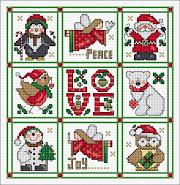 SAL PX - Lesley Teare - Christmas Sampler