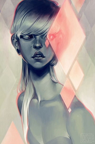 ilustración por Loish | creative emotional illustration art drawings, cool stuff, pictures, deep feelings | imagenes chidas imaginativas bonitas, emociones y sentimientos