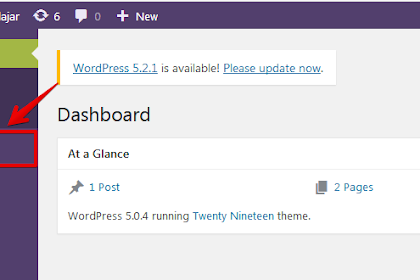 Cara Membuat Konten Pertama Di Wordpress Setelah Installasi di Localhost