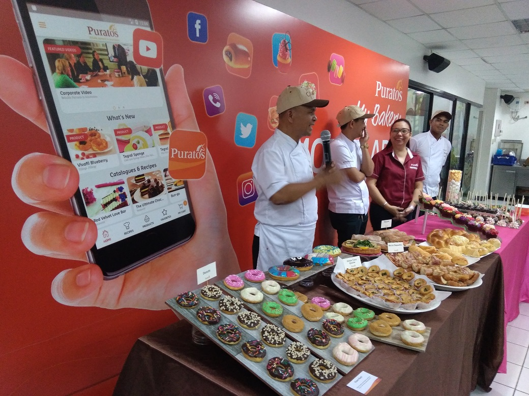 Puratos Ph's Launching of My Bakery Mobile App