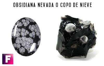 obsidiana nevada copo de nieve | foro de minerales