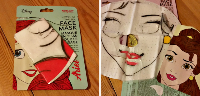 Disney Princess Face Mask Collection ready to go on