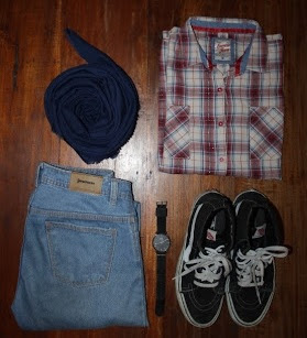 Tips Simple Mix and Match OOTD