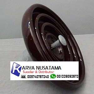 Jual Electrical Disk Insulator 11KV Keramik Ori di Palembang