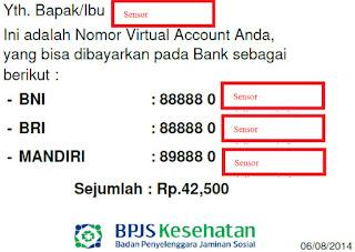 nomor virtual account bpjs