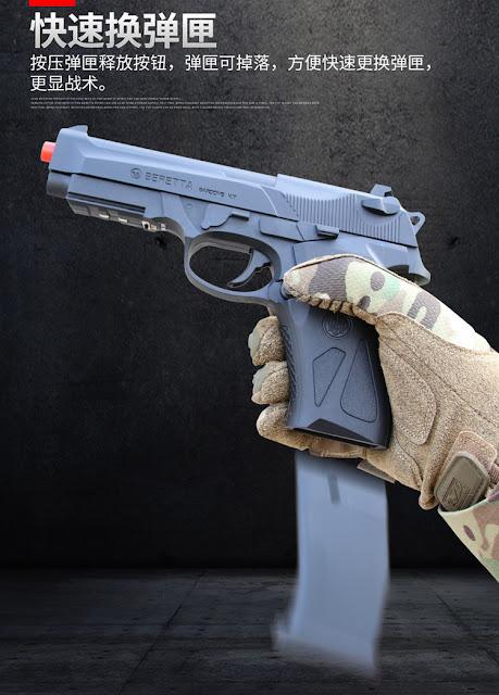 Súng lục đạn thạch m92 bản nâng cấp 2019 90 two