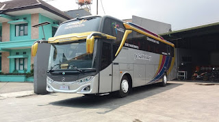 sewa bus pariwisata jetbus mhd bandung 2020