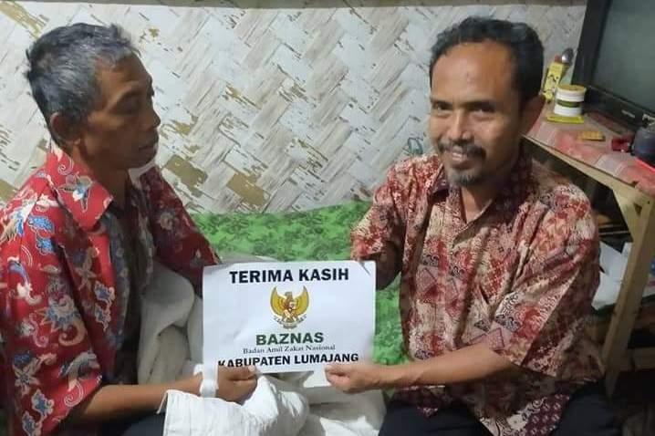 Dibantu Baznas dan PPDI, Akhirnya Tumor Pak Ta'i Berhasil Diangkat