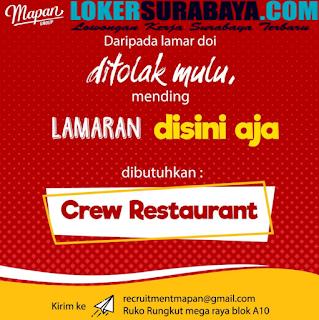 Lowongan Kerja Surabaya Terbaru di Mapan Group Juni 2019