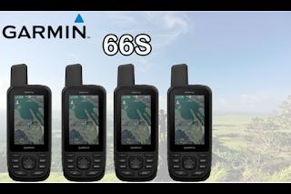 GPS Garmin 66S Memory 16GB
