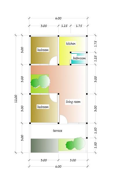 floor plan of beautiful house plan 12