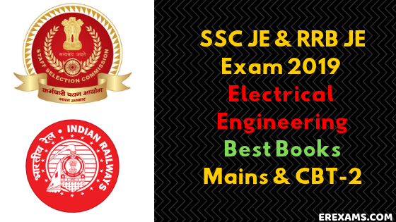 Best Books Electrical Engineering for SSC JE, RRB JE 2019 Mains & CBT-2