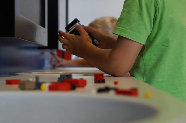 Bauen mit Lego