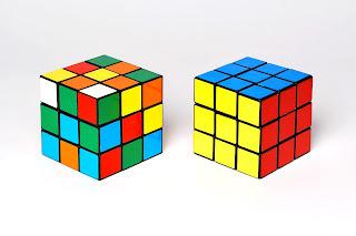 rubik's cube dalam keadaan acak hingga selesai - panduan tutorial lengkap