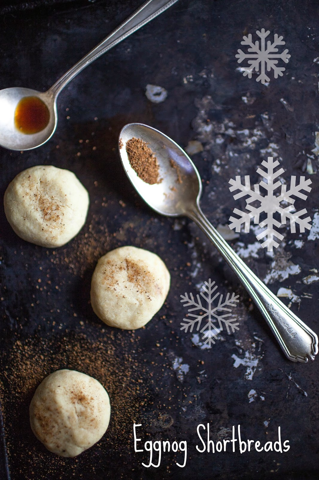 Eggnog Shortbreads: One Christmas Cookie 12 Ways