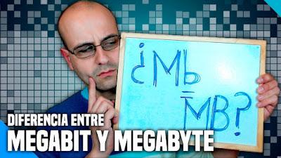 Diferencia entre Megabit (Mb) y Megabyte (MB)