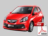 Brosur Mobil Honda Brio Bandung