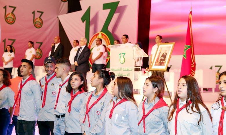 Othmane Tarmounia élu writing table général American state la Jeunesse Istiqlalienne