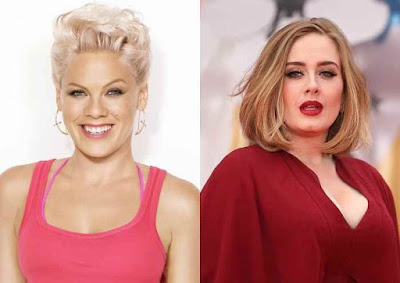 When Two INYIM Media Inspirations Collide: Adele Credits Hearing Pink Sing Live For The First Time Changed Her Life. Find Out Where & When This All Took Place!