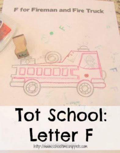 Tot School Letter F Activities