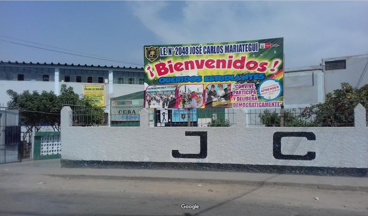 Colegio 2048 JOSE CARLOS MARIATEGUI - Comas