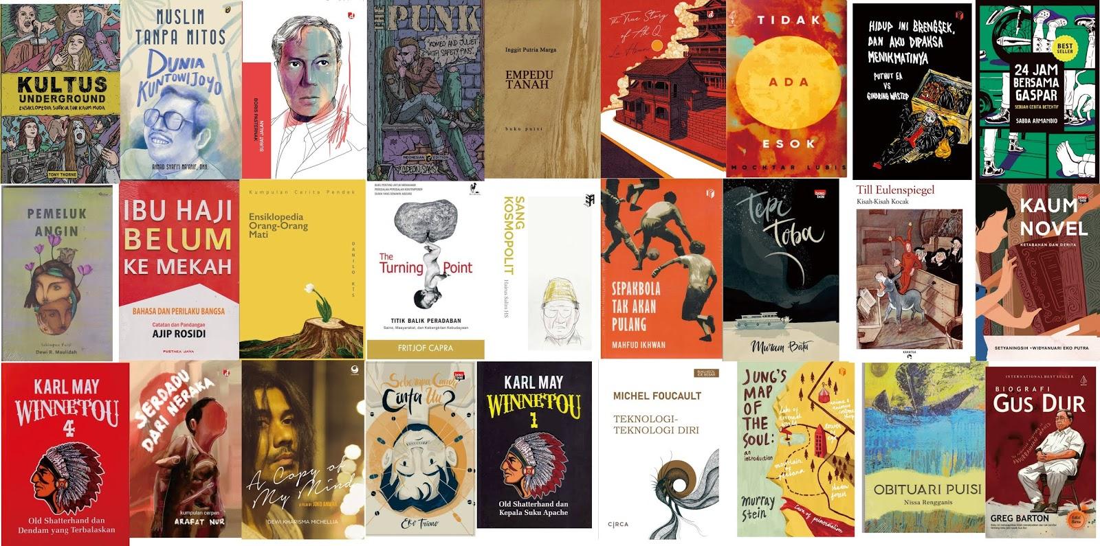 Jualan Buku Sastra Katalog Sastra Januari 2020