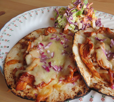 BBQ Flat Chicken Tacos for Two
