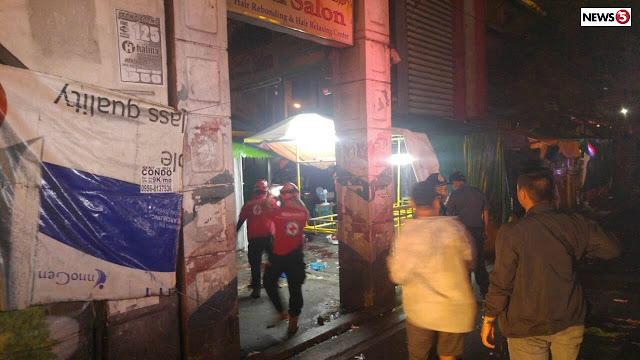 Explosion in Quiapo Manila leaves 5 injured