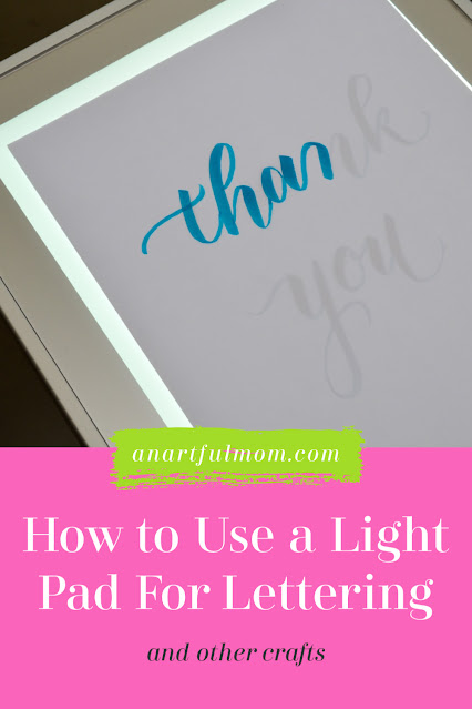 How to use a light box