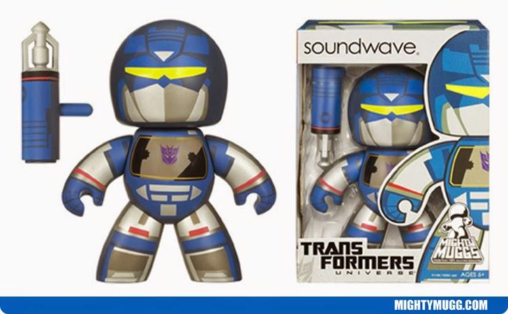 Transformers SOUNDWAVE MIGHTY MUGGS 2008 Hasbro 6 Inch Figure