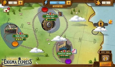 Enigma Express MOD APK v1.20 (Money/Clues/Energy/Powerup)