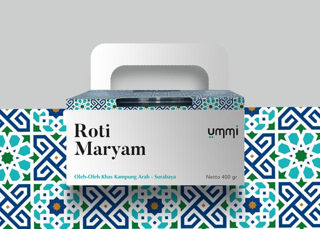 Kemasan Roti Maryam UMMI Kampung Arab Surabaya