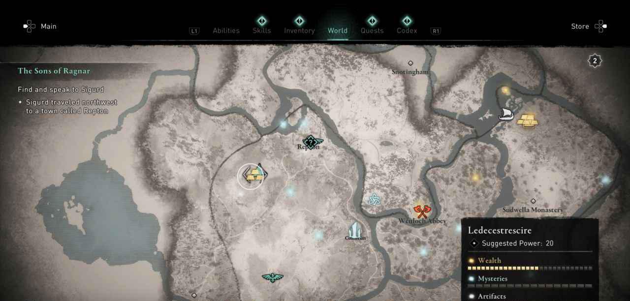 Ingot 20 Map 2