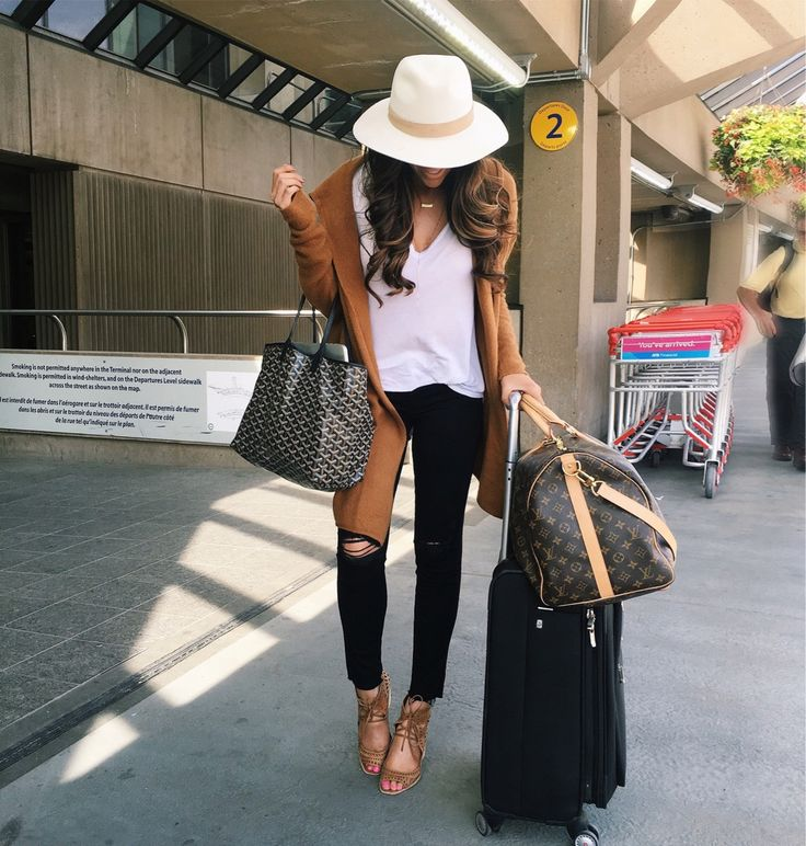 8 airport travel style outfits to recreate this year