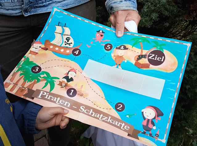 Piraten-Schatzsuche für Kinder ab 4 Jahren: Das geht trotz Corona und während des Lockdowns, sowohl drinnen als auch draußen!