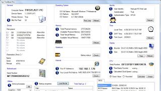 برنامج  لعرض جميع المعلومات عن ويندوز والتحكم بها