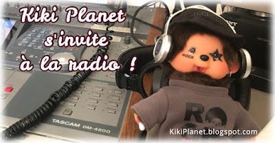 kiki Monchhichi dj  rock radio interview table mixage journaliste studio