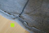 Nähte: ZANZEA Damen Lose Asymmetrisch Jumper Sweatshirt Pullover Bluse Oberteile Oversize Tops