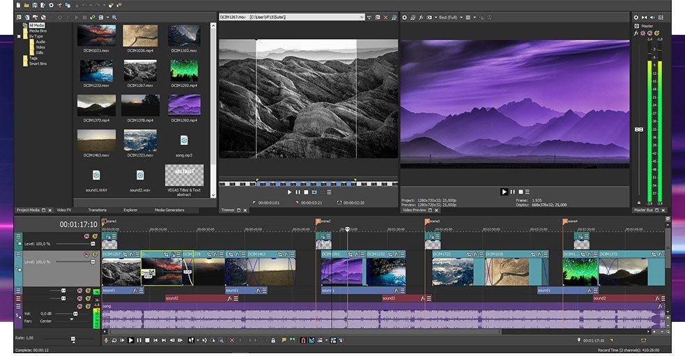 Tải phần mềm Magix Vegas Pro 15 Full