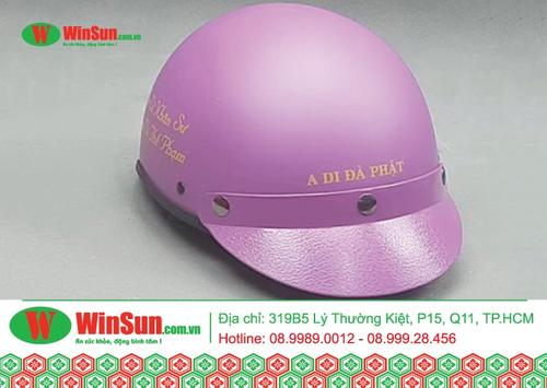 Cấu tạo của nón bảo hiểm ½ đầu