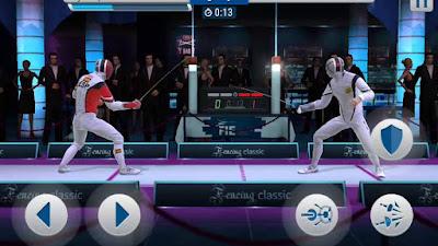 لعبة FIE Swordplay مهكرة للأندرويد، لعبة FIE Swordplay كاملة للأندرويد