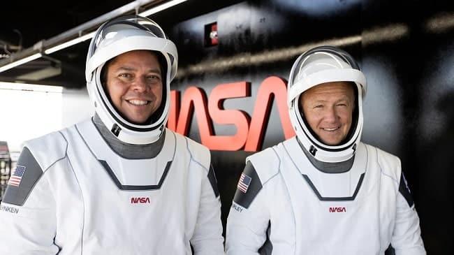 Astronautas Bob Behnken e Doug Hurley/NASA/Reprodução