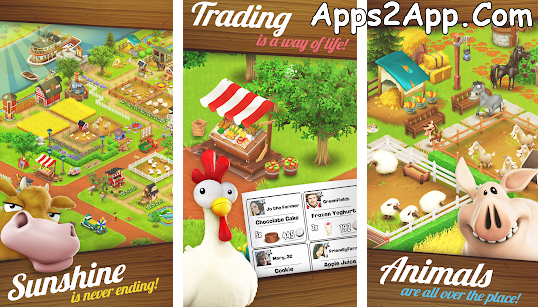Hay Day APK v1.45.111 [Mod ] [Unlimited Gems, Seeds and Coins] Latest
