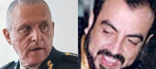 """""""Echándose unos tequilas"""" La reunión del jefe de jefes Arturo Beltran Leyva con El General"""