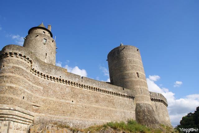 Cinta Muraria e Torri del Castello di Fougeres