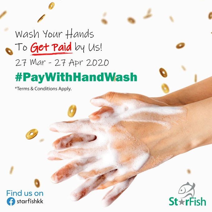 Wash Your Hands to Get Paid