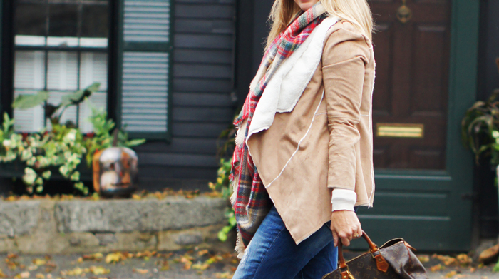 The Paper Store Faux Sherpa Jacket