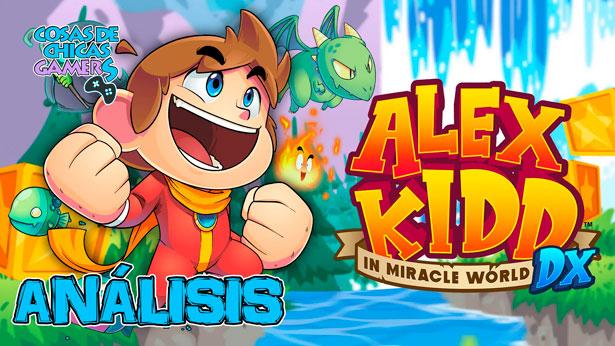 Análisis de Alex Kidd in Miracle World DX para Nintendo Switch