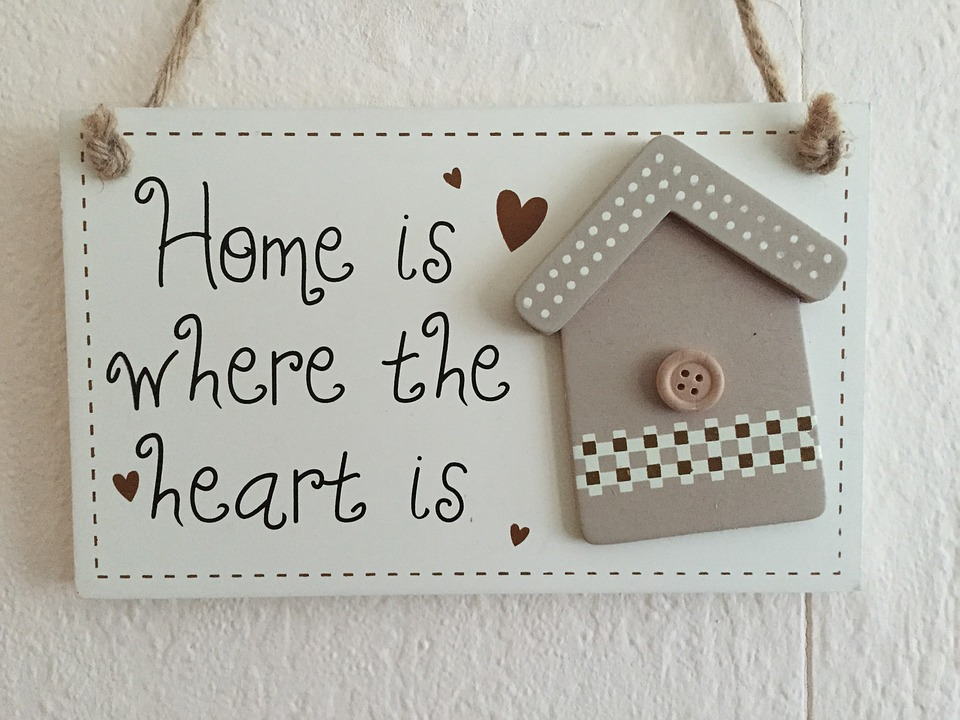 Home is where the Heart is | Home Sweet Home | Love Quotes | HNQuotes