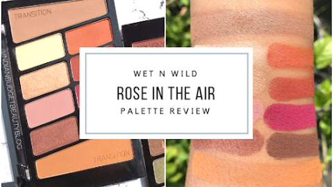 Wet n Wild Rose in the Air Color Icon Eyeshadow 10 Pan Palette | Review, EOTD